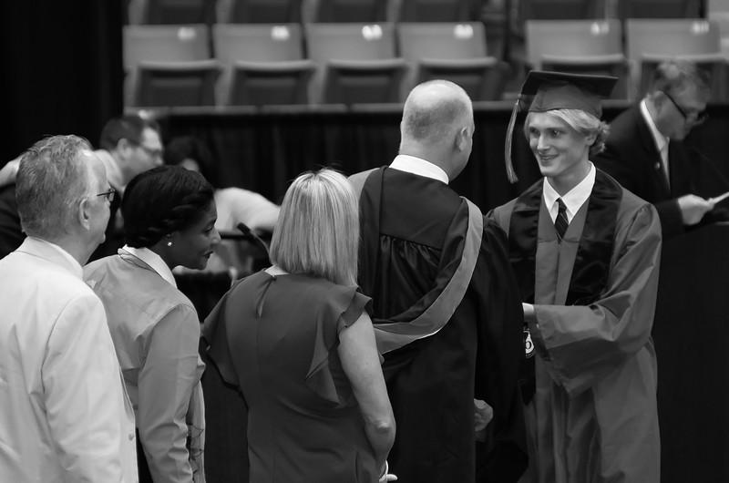 Graduation Night (selected b&w)