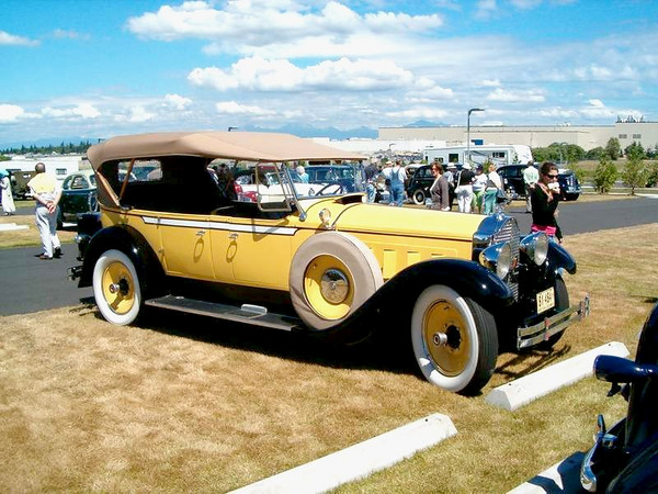 Vintage Packard's From Jim Pearsall