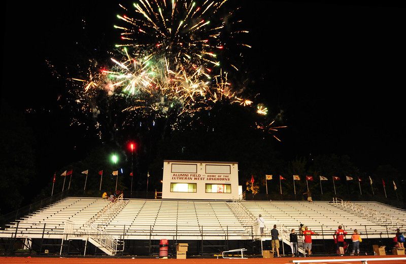 Lutheran-West-Fireworks-after-football-game-Unleash-the-Spirit-bash-2012-08-31-007.JPG
