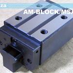 SKU: AM-BLOCK/MSA30S, PMI MSA Series 30S-N Heavy Load Linear Guideway Carriage, Runner Block