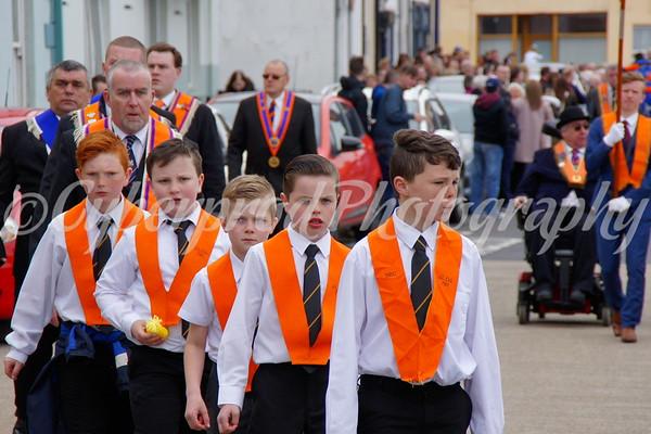 Belfast Junior Orange Order Parade
