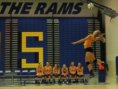 Varsity Volleyball - 10/16/14