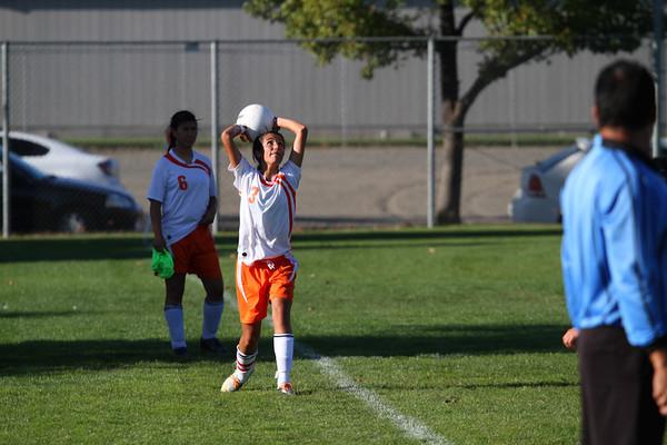 2012-10-02 Davis H.S. Soccer vs. Moses Lake