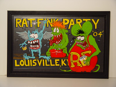 Rat Fink Party Panel Jam, at Carl Casper Auto Show, Louisville, KY 2004