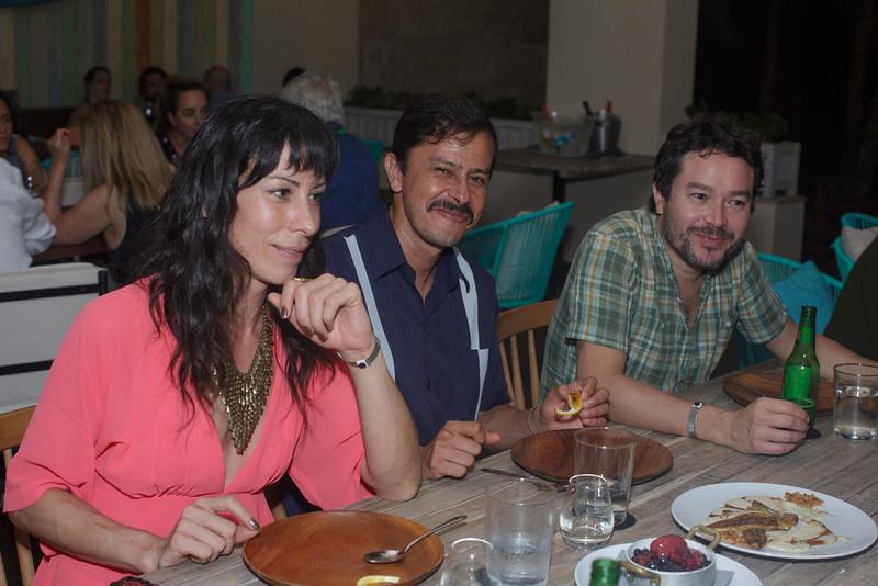 Diana Lein, Gerardo Sánchez Parra, Jerónimo Rodriguez
