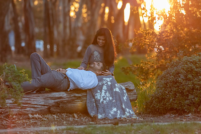 Shon + Vishakha Engagement Shoot
