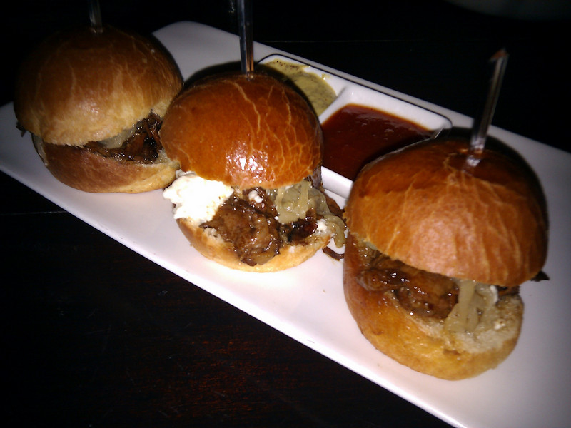 1300 on Fillmore - Maple Syrup Slow Braised Beef Short Rib Sliders
