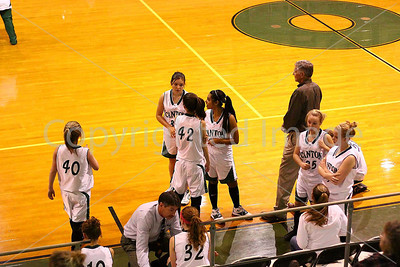 Girls vs Mabank, Nov. 24, 2008