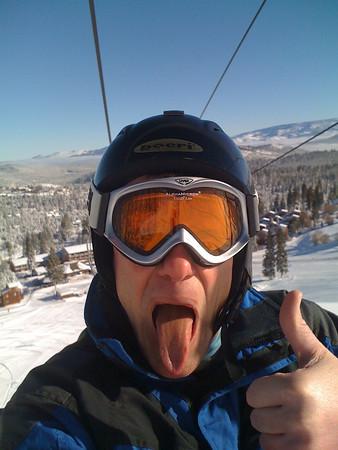 Tahoe Donner Powder Skiing (12/15/2010 & 2/26/2011)