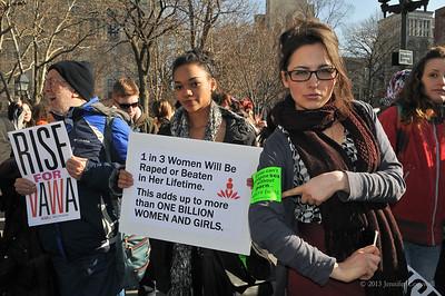 One Billion Rising - VDay - New York City - February 14, 2013