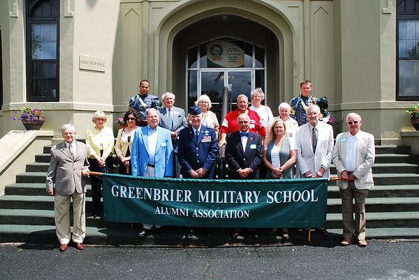Greenbrier Military School Parade
