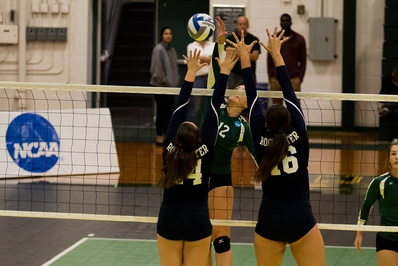 Clarkson Athletics: Women's Volleyball vs. University of Rochester. Clarkson win 3-1