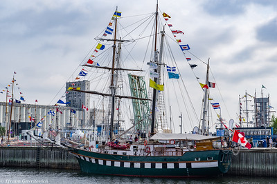 Tall ships. Quebec City, 2017