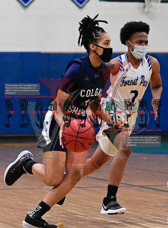 Colgan @ Forest Park Girls Varsity Basketball 1-29-21