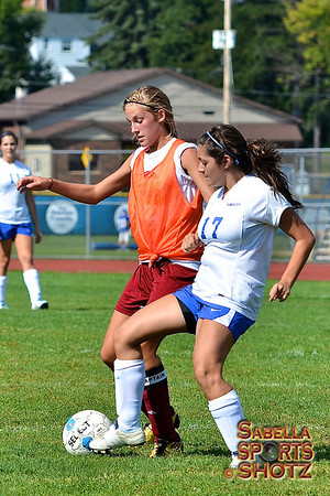8.28.12 - NBHS Lady Lions vs. Ellwood City (Scrimmage)