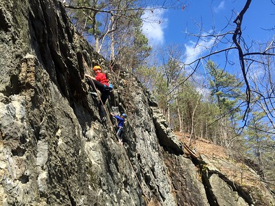 Rock Climbing | Early Spring