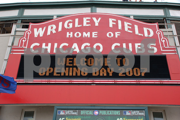 Cubs Opening Day 2007