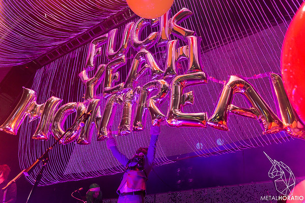 2018-08-20 Flaming Lips @ MTelus