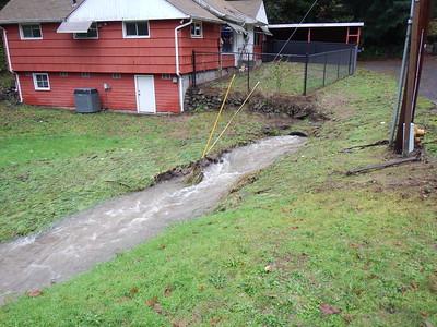 Kalama Flood, damage photos Dec 2015