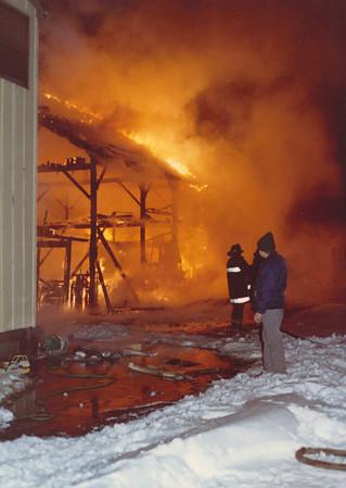 East Hartford, Ct Barn fire