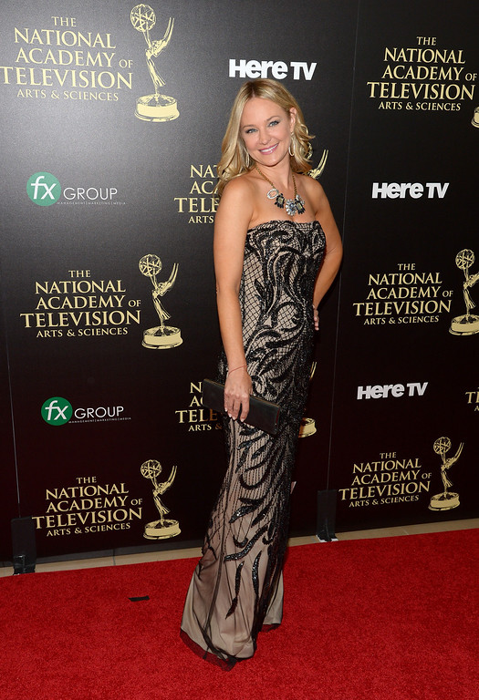 . Actress Sharon Case attends The 41st Annual Daytime Emmy Awards at The Beverly Hilton Hotel on June 22, 2014 in Beverly Hills, California.  (Photo by Jason Kempin/Getty Images)