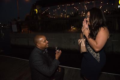 """She said Yes!"" with Ian and Karina"