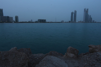 2013_08_08, Sunrise at Corniche Breakwater
