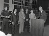 Mayor Hudnut at IPD Quarterly Awards, September 15, 1983, Img. 20, with Joseph McAtee