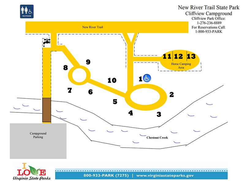 New River Trail State Park (Cliffview Campground)