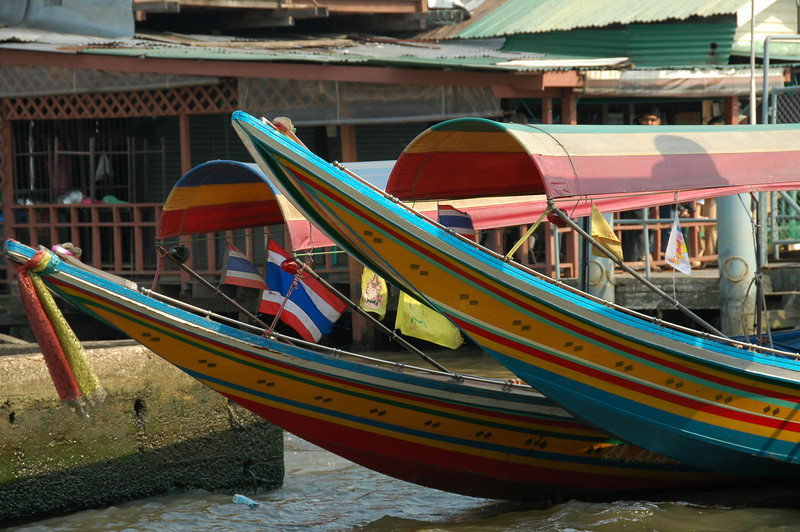 Riverboats on the Chao Phraya - Bangkok, Thailand