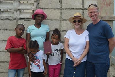 Dania Pierre & children