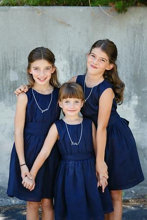 Bennett Girls at Wedding