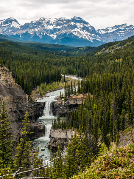 Crescent Falls, Mountains, HDR.jpg