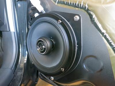 2007 Toyota Yaris 3 Door Hatchback Front Door Speaker Installation - USA