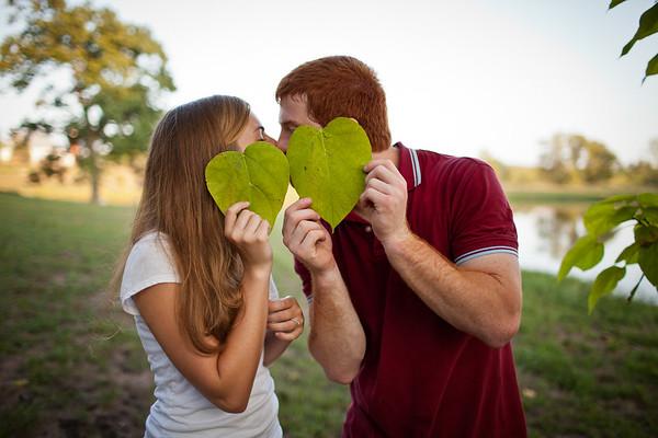 Eiken & Cassmeyer Engagement - Jefferson City, MO Wedding Photographer
