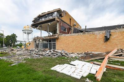 LMU water treatment plant demolished (7/29/21)