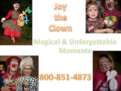 Joy the Clown at our house