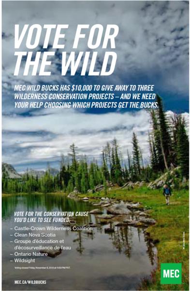 MEC Wild Bucks Campaign