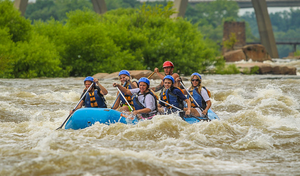 James River/Pipeline 7-12-13 River City Rafting