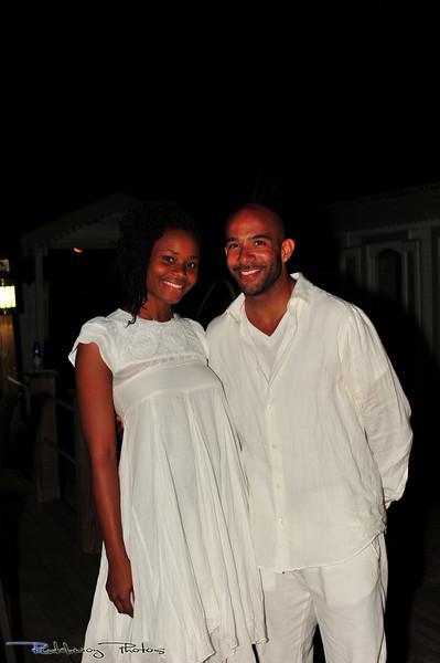 Designer Kristin Frazer and Joel Steingold