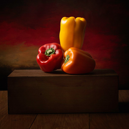 Still Life Photography Fruit and Veggies