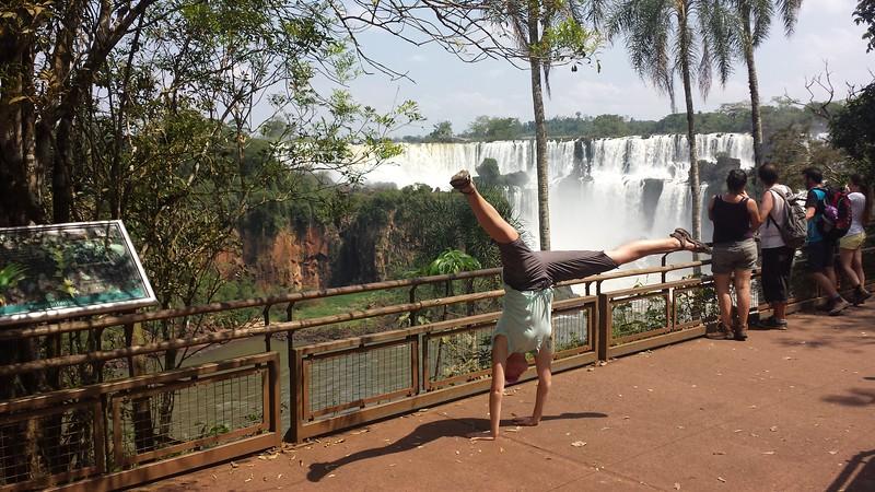 Stacee Calderon - Iguazu Falls, Argentina