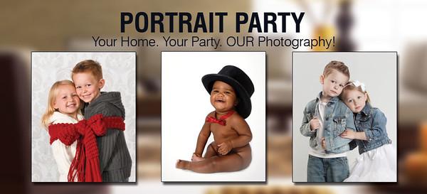 Portrait Party Header