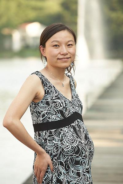 Jie - Pregnant - June 2008