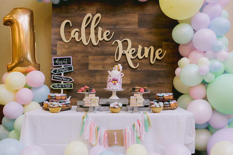 Callie Reine's 1st Birthday Celebration (Event Photos + Photo Booth)