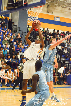 12-20-2013 Gaithersburg HS vs Clarksburg HS Boys Varsity Basketball, Photos by Jeffrey Vogt Photography