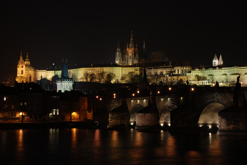 Prague Night Scene Near Water 32.JPG