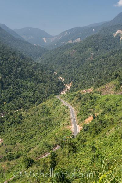 Drive from Dalat to Nha Trang, Vietnam