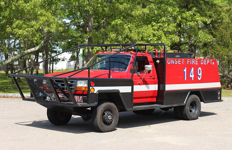 Forestry 149   1995 Ford F-450 / Fire One   300 / 400