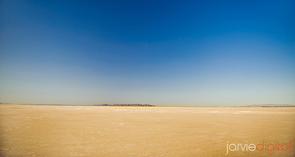 Landscapes at Salt Flats